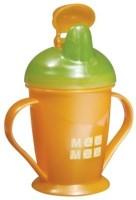 Mee Mee Baby's Non-Spill Feeding Cup - 180 Ml (Orange)