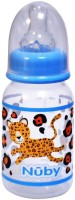 Nuby Feeding Bottle Medium Flow 120 Ml - 120 Ml (Blue)
