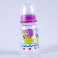 Littles Classic Mini Pink Feeding Bottle - 125 Ml (Pink)