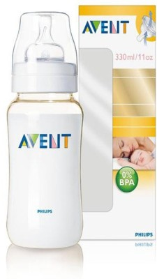 Philips Avent Anti-colic Valve System Feeding Bottle - 330 Ml (white)