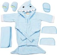 Belle Maison Baby Bath Robe Set (6Pcs.) 18-24 Month (Blue)