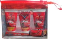Disney Pixar Cars Lightning Mcqueen Gift Pack(C.S.50ml, B&S.Gel 50ml, B.Lotion 50ml) (Red)