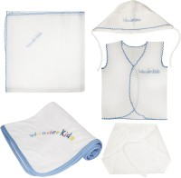Wonderkids New Born Baby Gift Set (Blue)