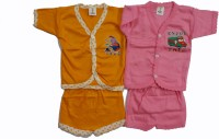 CEFFON New Born Baby Cotton Clothes (Multicolour) - BBCEFVXJWCHYJT7J