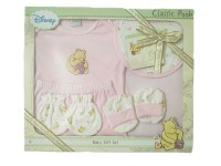 Disney Baby Gift Set- 6pc (Pink)