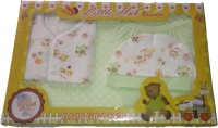 Little Hub New Born Baby Gift Set - Green (Green)