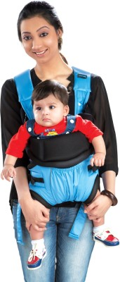 Luvlap Baby Carrier Blossom Baby Carrier (Blue)