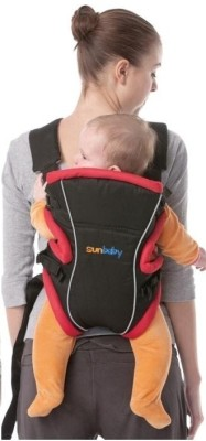 Sunbaby Baby Carrier Baby Carrier (Black)