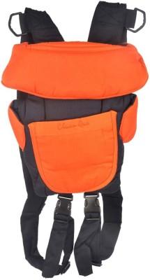 Koochi koo Baby Kangaroo Bag 3 Way Orange Navy Blue Baby Carrier (Orange, Blue)
