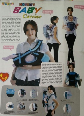 Novelty Baby Carrier Baby Carrier (Blue)