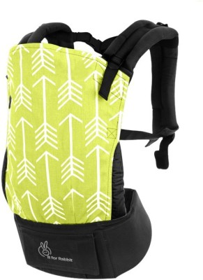 R for Rabbit Hug Me Baby Carrier (Green)