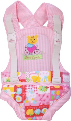 Ole Baby Durable Embroidery Checks Print Kangaroo Two Way Baby Carrier (Multicolor)