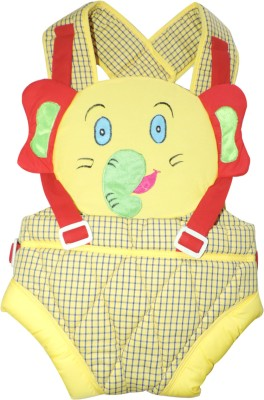 Ole Baby Large Kangaroo Checks Print Two Way Baby Carrier (Multicolor)