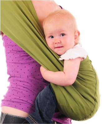 Nahshon Baby Side Carry Sling Baby Carrier (Green)
