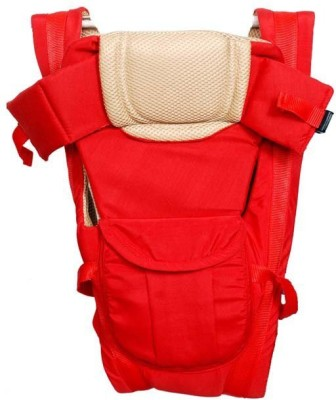 CHINMAY KIDS RED STRONG BELT 4 IN 1 POSITION Baby Carrier (Red, Multicolor)