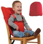Meded Baby Proofing Meded Portable Baby Safety Seat Harness Belt Red