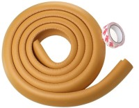 Kuhu Creations Edge & Corner Guards 2M Crash Bar Children Safety Edge Guards Strip With 3M Tape (Wooden)