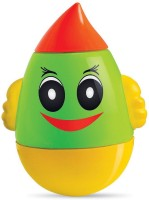 Toyzee Roly Poly Humpty Dumpty Rattle (Green, Red, Yellow)
