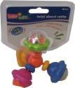 Baby Baby Twist About Rattle - Green