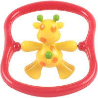 Mothercare Spinner Rattle Assortment Rattle (Red, Yellow)