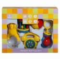 MeeMee Musical Rattle Set (Set Of 4 Piece) 1 M+ Rattle - Yellow