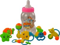 Magic Pitara My First Toy Set Shaking Bell Rattle (Multicolor)