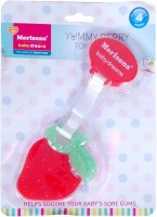 Morisons Baby Dreams Yummy Berry Teether Rattle (Red)