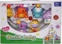 Venus-Planet Of Toys Smile Baby Mus Mobile Rattle (Multicolor)