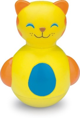 Funworld Kitty Roly Poly Rattle (Yellow)