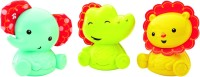 Fisher-Price Roly-Poly Pals Rattle (Multicolor)