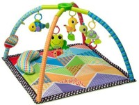 Infantino Pond Pals Twist And Fold Activity Gym And Play Mat Rattle (Multicolor)