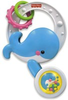 Fisher-Price Spill And Spin Whale Rattle (Multicolor)