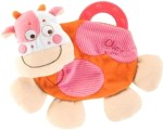 Chicco Baby Rattles Chicco Cow Teething Blanket Rattle