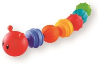 FUNSKOOL GIGGLES LINK ALONG CATERPILLAR Rattle (Multicolor)