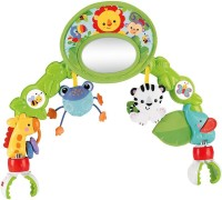 Fisher-Price Deluxe Stroller Activity Center Rattle (Multicolor)
