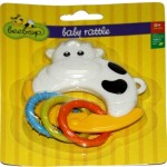Beebop Baby Rattles Beebop Cow Character Rattle Rattle