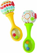 Fisher Price Baby Rattles Fisher Price Rattle & Rock Maracas Rattle