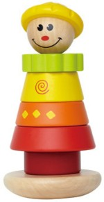 Hape Baby Rattles Hape Stacking Jill Rattle