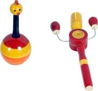 MNC Combo Of(Balance Doll+Kitkiti) Rattle (Multicolor)