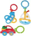 Fisher-Price Vehicles Peg Gift Set Rattle - Multicolor