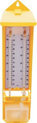 Labpro hygrometer Bath Thermometer (yellow)