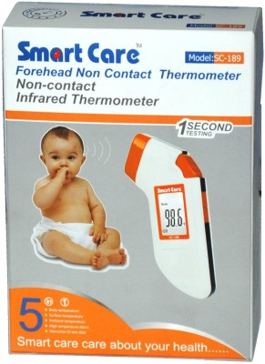 Smart Care Non-contact Infrared Bath Thermometer (White)