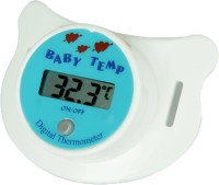 Krishkare Digital Pacifier For Babies Bath Thermometer (White)