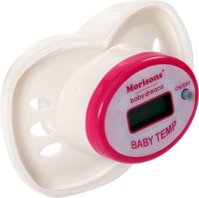 Morisons Baby Dreams Nipple Thermometer Bath Thermometer (White)