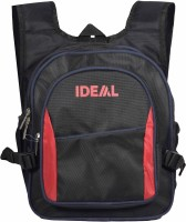 Ideal Polo School Backpack 15 L Backpack (Red And Black)
