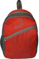 DZert Chax Polyester Light Weight School 20 L Backpack (Red)