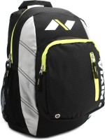 Nivia Trap Back Pack Backpack Black, Yellow, Size - 16.5