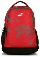 American Tourister Cyber 25 L Medium Backpack (Red, Size - 422)