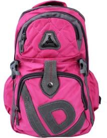Super Drool Pink Trek and Travel 8 L Backpack