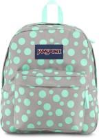 JanSport Spring Break 21 L Backpack Grey Rabbit Sylvia Dot